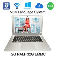 2017 Hot Selling windows 10 system 13.3 inch laptop In-tel Atom Z3735F,Quad Core,1.33GHz 2G ram 32G EMMC built in camera