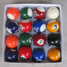 suzakoo One Set 25mm or 32mm mini biliards ball pool children tool snooker balls