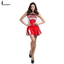 Echoine Cheerleading Uniforms Soccer Football Babes Baseball Basketball Games School Girls Cheerleader Costumes Team Cosplay New