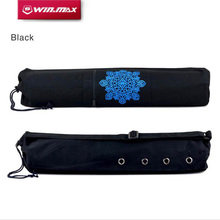 WIN.MAX 68x15 cm Canvas Strap Exercise Gym Fitness  Pilates Yoga Mat Bag Carrier Backpack for Under 6 mm Thick Yoga Mat
