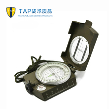 Tap multifunctional metal copper compass car compass luminous outdoor tools(China)