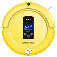 (Ship from USA or RU)Robot Vaccum Cleaner Auto Sweep,Mop,Sterilize,LCD Touch Screen,Schedule,Auto Charge Free Shipping