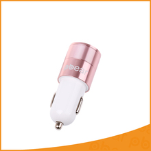 Pbear Fashion Rose Gold 5V 4.8A Micro Auto Universal Dual USB Car Charger Mini Car-charger Adapter for iPhone Samsung Xiaomi HTC