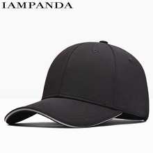 Iampanda Limited Brand 2017 Durable New Baseball Cap Curved Solid Color Adjustable Bone Caps Youth Snapback Dad Hat Casual