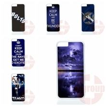 For Huawei P6 P7 P8 mini Lite Honor 3C 4C 6 7 Mate 7 8 P9 Plus G6 G7 G8 4X 5X Tampa Bay Lightning Covers Case