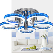 European Modern Style LED Acrylic Chandeliers Ceiling Light Lamp With 5 Lights N4025(China)