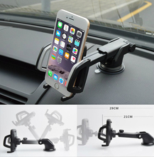 For Oppo R9 R7 R5 F1 A59 A37 Find 7 Universal 4- 6 inch Retractable Windshield Dashboard Car Phone Stand Holder GPS Mount