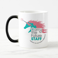 Free shipping Funny novelty Unicorn Color Change Ceramic and bone china Coffee Mug Tea Cup  Magic Mugs for friends gift