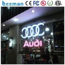 Shenzhen Leeman Display Technology Limited multitouch advertising led screen,display glass curtain wall transparent led display