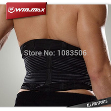 "WINMAX New 9"" Adjustable Therapy Band Posture Corrector Sport Waist Support Good Quality Belt  Lumbar Protector Back Support"