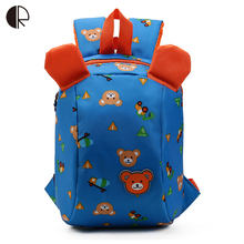 Anti lost backpack for kids Children Backpack aminals Kindergarten School bags for 1-3 years boys girls Bear Toddler backpack
