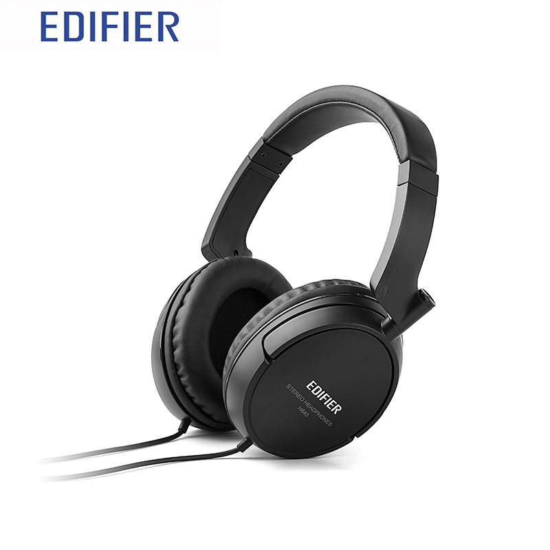 EDIFIER H840 Headphones Professional Pure Sound Calibrated  Hifi Bass Stereo 3.5mm Jack Headband 40mm Driver Dynamic Headset<br><br>Aliexpress