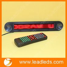 4pcs Red LED Sign Programmable Rolling Information Indoor Display Screen LED Advertising Board With Remote Control