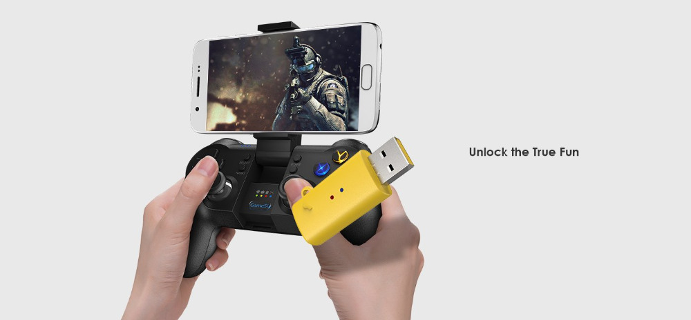 GameSir G4s with Remapper A2, Bluetooth Gamepad for Android TV BOX Smartphone Tablet 2.4Ghz Wireless Controller for PC VR Games