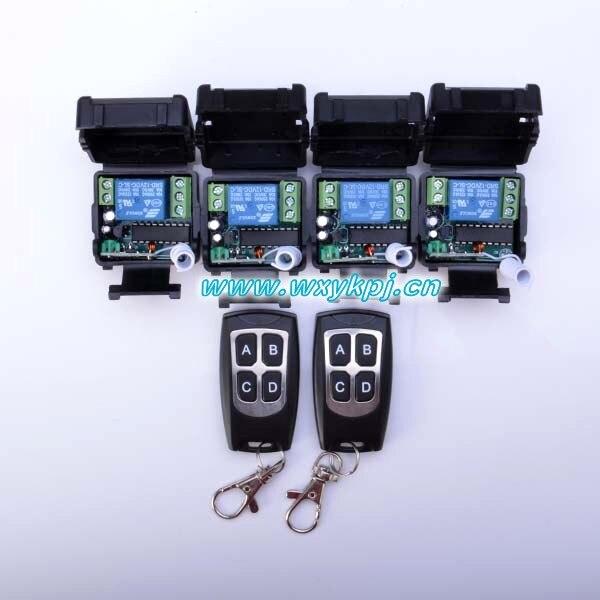 12v single wireless remote control switch waterproof key access control switch<br><br>Aliexpress