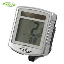 Bike Bicycle Computer Wireless Bicycle Speedometer  Solar  Stopwatch Temperature In  Bicycle Accessories  battery