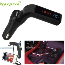 New Arrival Bluetooth Car Kit Handsfree FM Transmitter Radio MP3 Player USB Charger & AUX st23