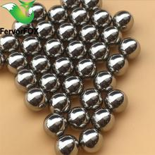 Free shipping ! 20pcs/bag 6.35mm Professional Slingshot Ammo, Shooting Steel Balls Outdoor For Hunting(China)