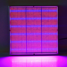 (20W:289leds) (120W:1365leds) Red 640nm 680nm & Blue 460nm 480nm Plane LED Plant Grow Light
