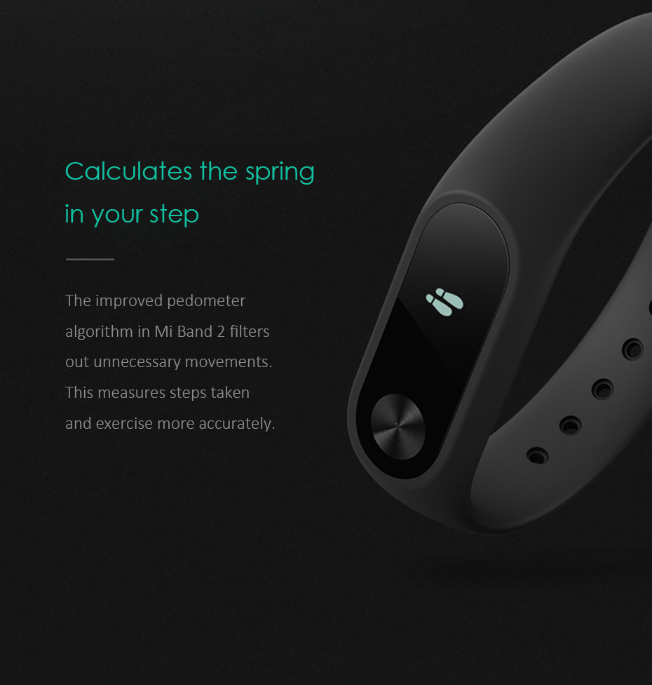 Original Xiaomi Mi Band 2 Wristband Optional Colorful Straps Sleep Tracker IP67 Waterproof Smart Mi Band For Android IOS Phones 3
