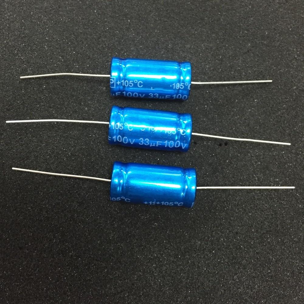 2PCS EPCOS 10UF 500V axial filter back coupling capacitors