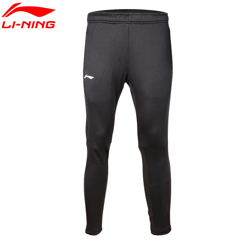 Image Li Ning Soccer Training Pants Fit Breathable Elastic Fitness Training Pants AKLKA31 MKY252