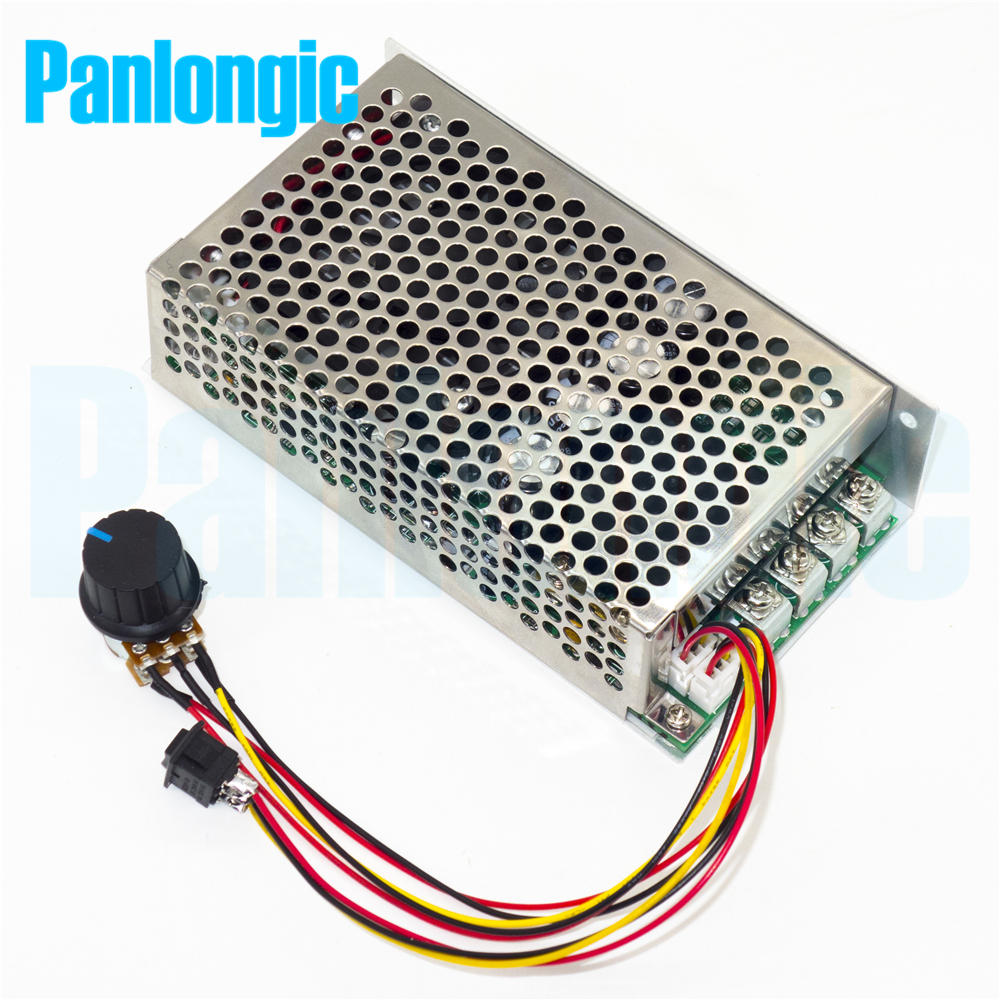 Buy 10 50v 100a 5000w Reversible Dc Motor Speed Pwm Based Simple Controller Torque Is Lost Electronics H Bridge Control 12v 24v