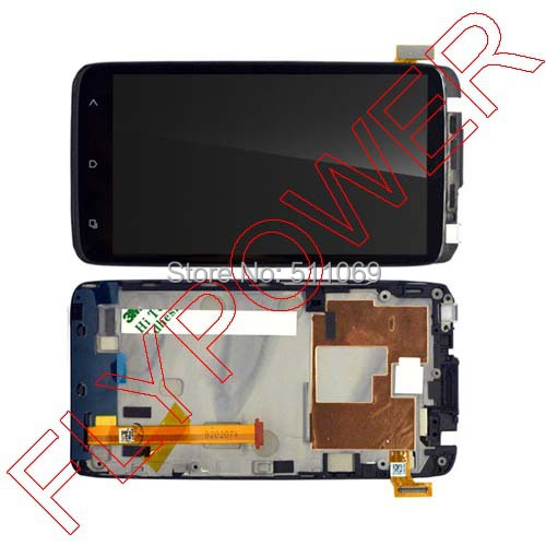 For HTC One XL LCD Display With Touch Screen Digitizer + Frame Assembly by free shipping <br><br>Aliexpress