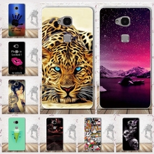 For Huawei Honor 5x Case Cover TPU Soft Silicone 3D Relief Painting Cover for Huawei Honor5X Protector Fashion Phone Cases Coque