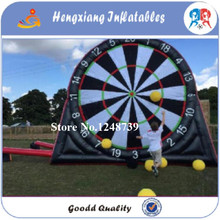 2017 Top Quality Giant PVC Inflatable Foot Darts, Inflatable Soccer Darts, Inflatable Football Darts Game,Big Balls(China)