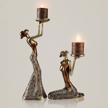 2017New candle Silver/Gold Metal candle Holder Stand Wedding decoration Candlestick acrylic candle holder wedding European style