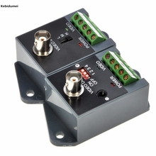 Hot LLT-351T Long distance 1 channel one passive Active Video Balun for CCTV for elevator