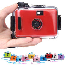 2017 high quality Mini Underwater Waterproof Mini 35mm Film Camera Purple