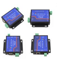 4pcs USR-TCP232-410S Serial to Ethernet TCP/IP Converter RS232 RS485 Interface Support TCP/UDP/WEB to Serial