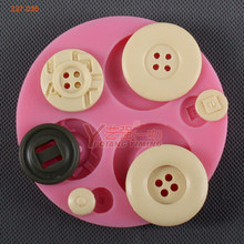 new product free shipping Canada button mould for cake decorating cakes tools silicone cake mold