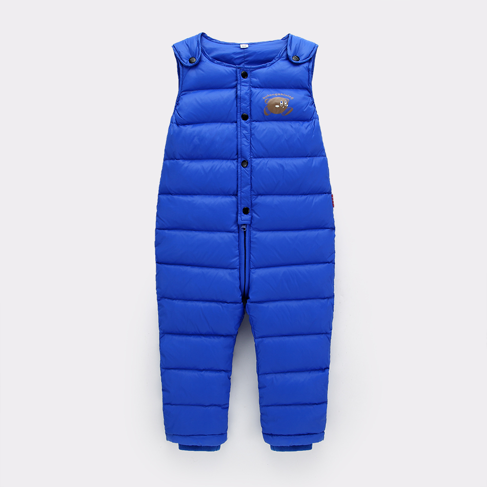 2016 winter baby jumpsuits and warm one piece jumpsuit kids girls winter coat  pant overalls down boys outerwear baby leggings<br><br>Aliexpress