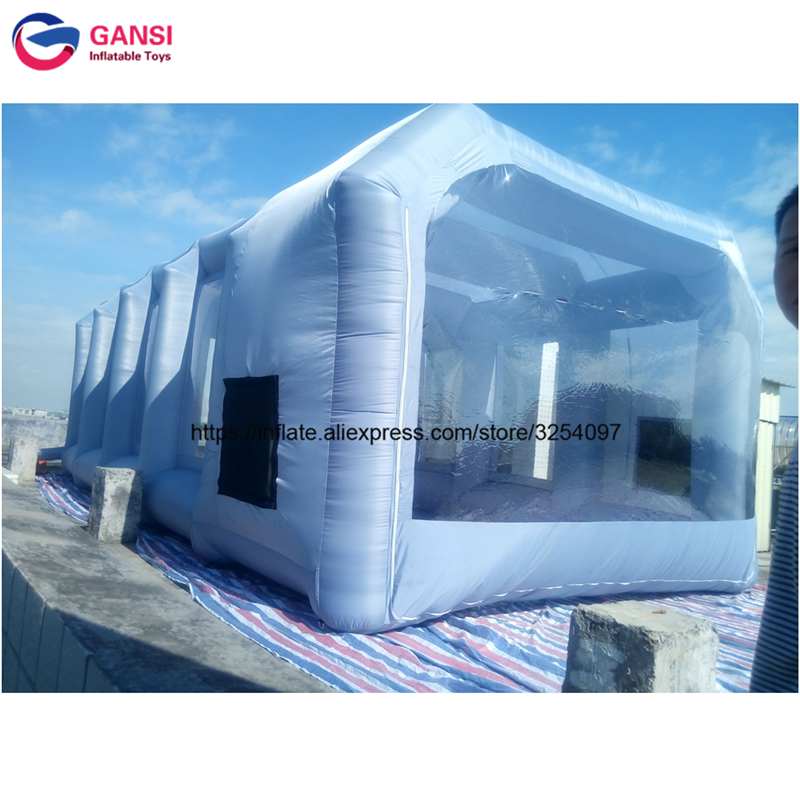 inflatable paint spray booth57