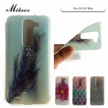 Mikoor Fashion Painted TPU Silicone Soft 4.7For LG G2 Mini Case For LG G2 Mini D620 D618 Cell Phone Case Cover