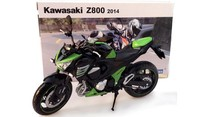 Kawasaki Z800 Motorcycle Model Diecast Metal Motorcycle Toys For Kids Children