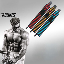 AOLIKES 1PCS Hand Wraps Wrist Strap Weight Lifting Wrist Wraps Powerlifting Bodybuilding Breathable Wrist Support