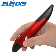 ELENXS 2 in 1 Mini 2.4GHz Wireless USB Optical Pen Mouse Laser Pointer Adjustable 1200DPI for PC Laptop Desktop PPT Demo Device(China)