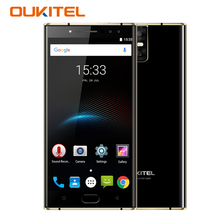"4G Oukitel K3 MT6750T Octa Core 4GB+64GB 5.5"" Dual 2.5D Screen 6000mAh 4 Cameras 16MP+2MP Front Fingerprint Smartphone LTE"