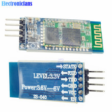hc-06 HC 06 RF Wireless Bluetooth Transceiver Slave Module RS232 / TTL to UART Converter  3.3V 4PIN For Arduino