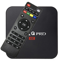 10 pcs/lot Android 6.0 TV Box MX PRO Quad-core 64-bit 1G 8G 60fps H.264 Media Center Q pro Smart OTT TV BOX(China)
