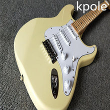 Kpole Factory Scalloped Fingerboard Big Head stratocaster 6 string Electric Guitar(China)