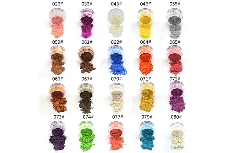 20 Colors Eye Shadow Makeup Powder Naked Pigment Mineral Shimmer Matt Shadows Make Up Highlighters Brightens Brands Eyeshadow  (12)