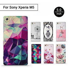 Buy 3D Relief Soft TPU Phone Case Sony Xperia M5 Silicone Back Cover Shell Protector Cases Sony Xperia M5 E5603 E5606 E5653 for $1.51 in AliExpress store
