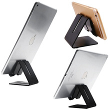 Universal metal aluminium alloy mobile phone tablets desk table kickstand holder stand mount for Apple iPhone iPad Samsung
