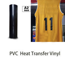 50cm100cm Heat Transfer Vinyl Cutting Film Cutter Press PVC Iron for Textile Black