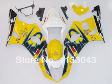 Injection mold For SUZUKI GSX-R1000 K3 03 04 GSX R1000 K3 Yellow Corona GSXR 1000 2003 2004 GSXR1000 Fairing Kit